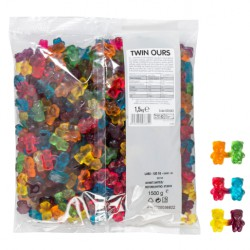 Twin Ours vrac 1,5kg haribo