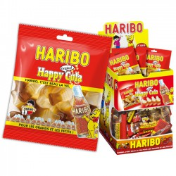 30 sachets Happy cola Haribo