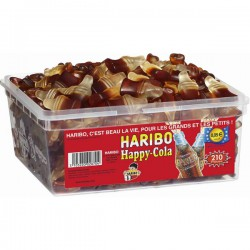 Happy Cola Pik haribo tubo 210p