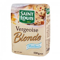 Vergeoise blonde Saint Louis 500 gr