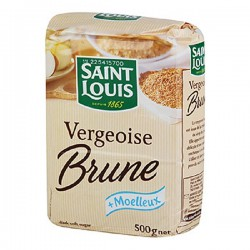 Vergeoise brune Saint Louis 500 gr