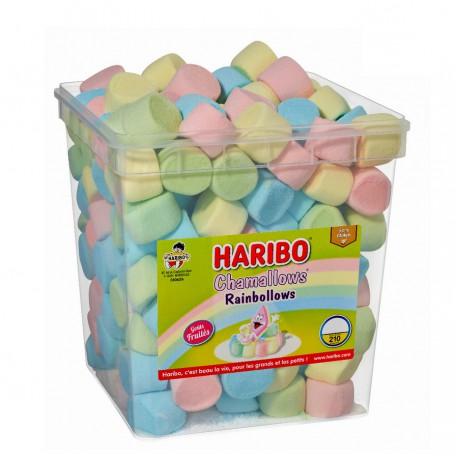 Chamallows Rainbollows Haribo tubo 210p