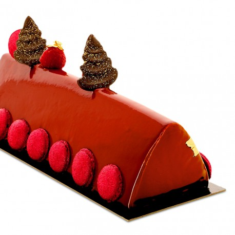 Moule à bûche grand triangle BUB16