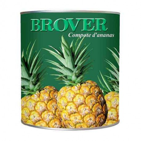 Compote d'ananas Brover
