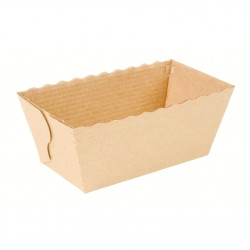 Moules mini cake en carton Nordia (Lot de 10)