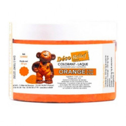 Colorant laqué orange (20g)