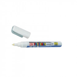 Feutre craie blanc pointe 1 mm