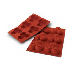 Moule silicone 6 triskells