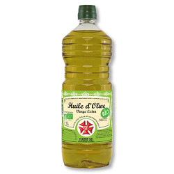 Huile d'olive vierge extra BIO (1Litre)