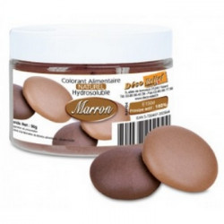 Colorant naturel marron Déco Relief en pot de 50 gr