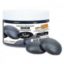 Colorant naturel noir Déco Relief en pot de 50 gr