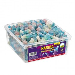 Purple Cola Pik Haribo en tubo