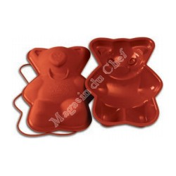 Moule silicone coeur