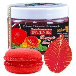 Colorant intense rouge père noël 50g Déco relief