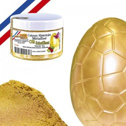 Colorant métallisé or scintillant (25gr) Déco Relief