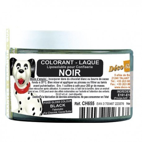 Colorant laqué ORANGE 100g Déco relief