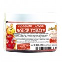 Colorant laqué rouge tomate (20g)