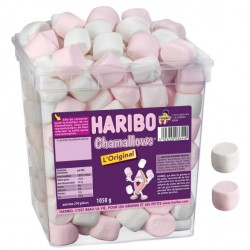 Chamallows L'original Haribo tubo 210p